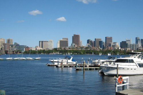 Boston from Cambridge in 2008