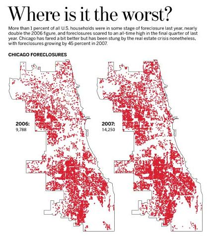 Chicago Foreclosure Map